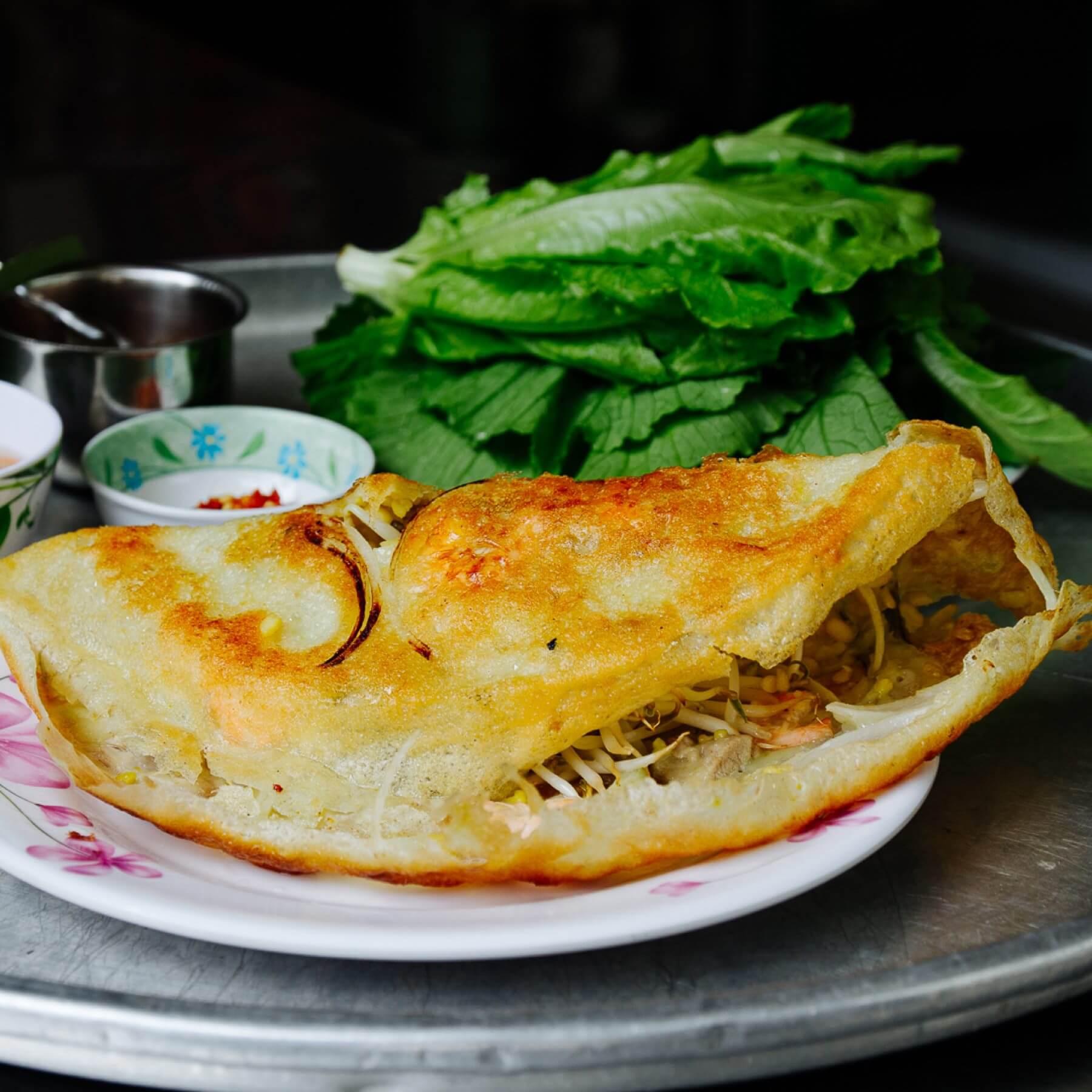 Banh Xeo - Vietnamesische Crêpes aus Hoi An