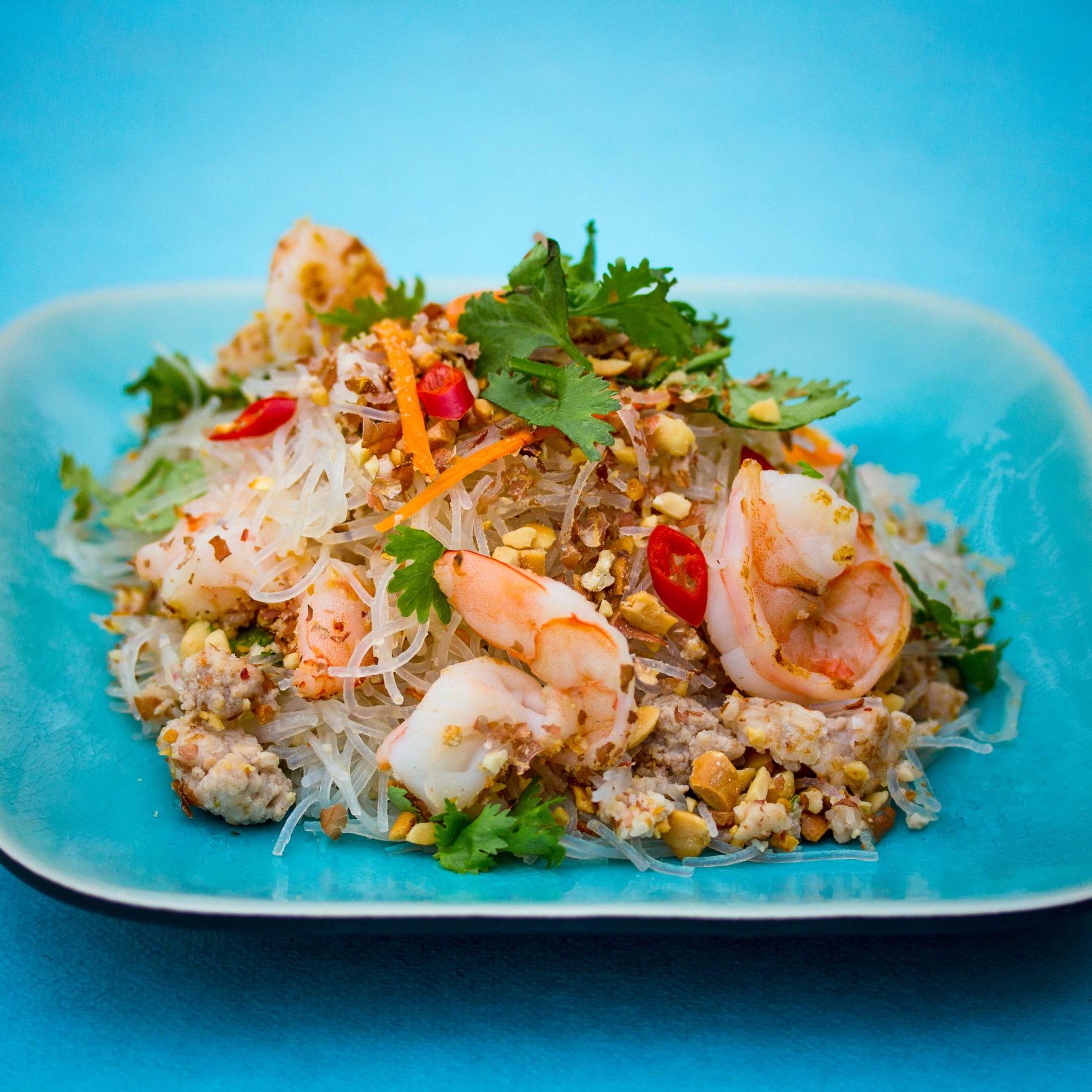 Thai-Glasnudelsalat - Yum Woon Sen