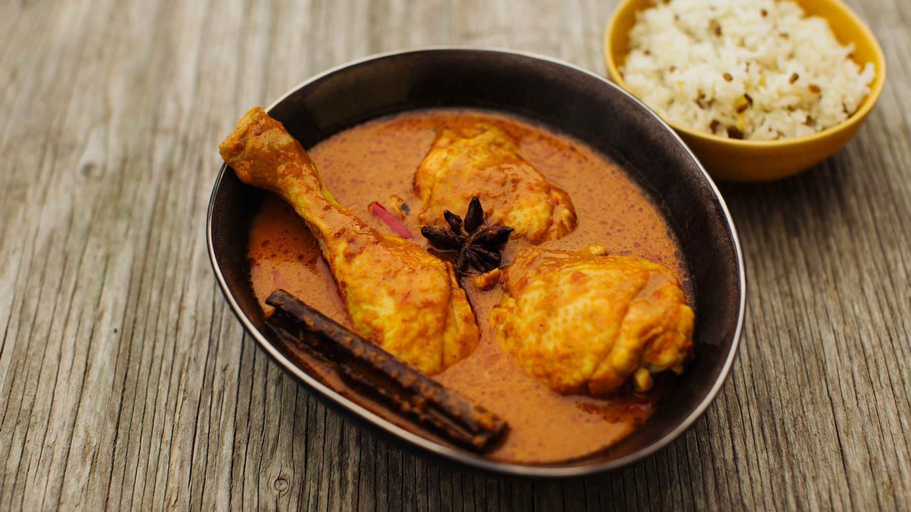 Hähnchen Curry aus Malaysia