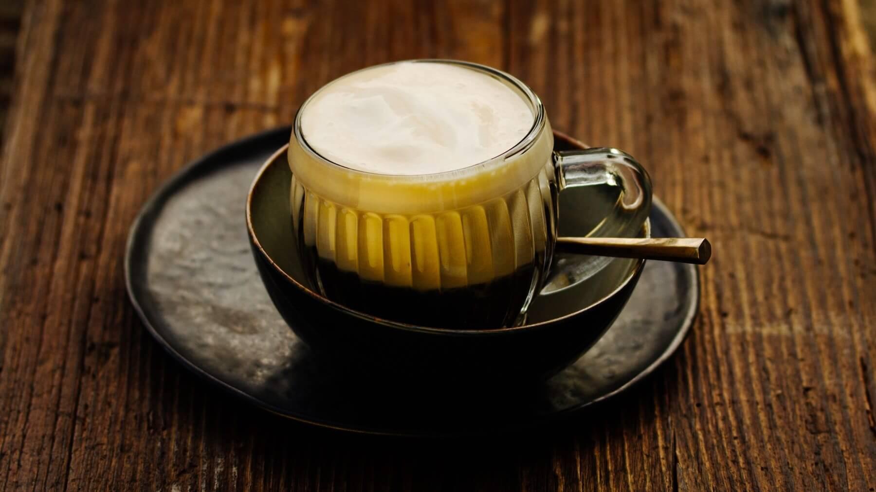 Kaffee mit Zabaione