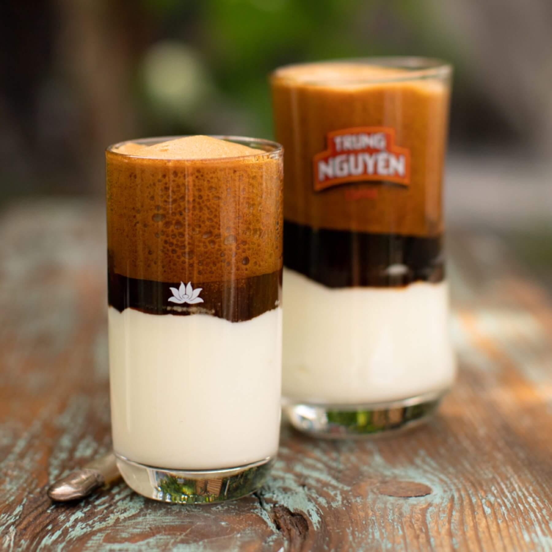 Vietnamesischer Joghurt Kaffee