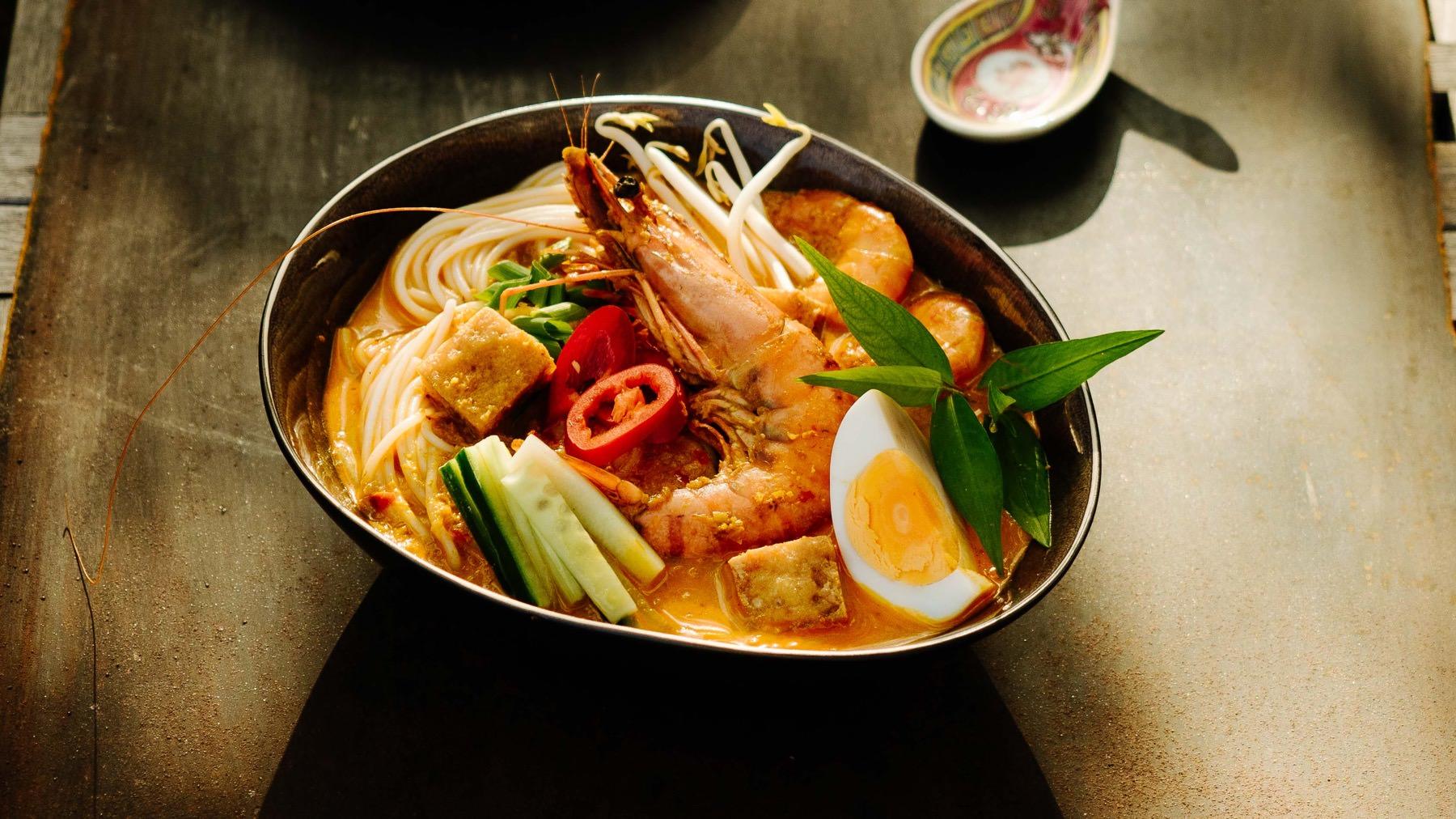 Curry Laksa aus Malaysia