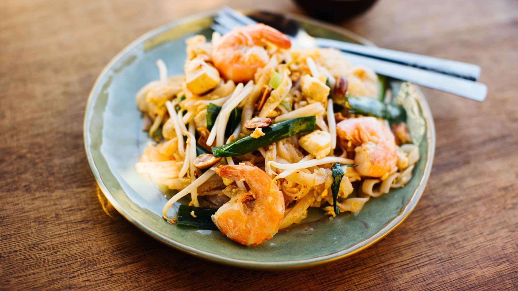 Pad Thai – Gebratene Thai-Nudeln
