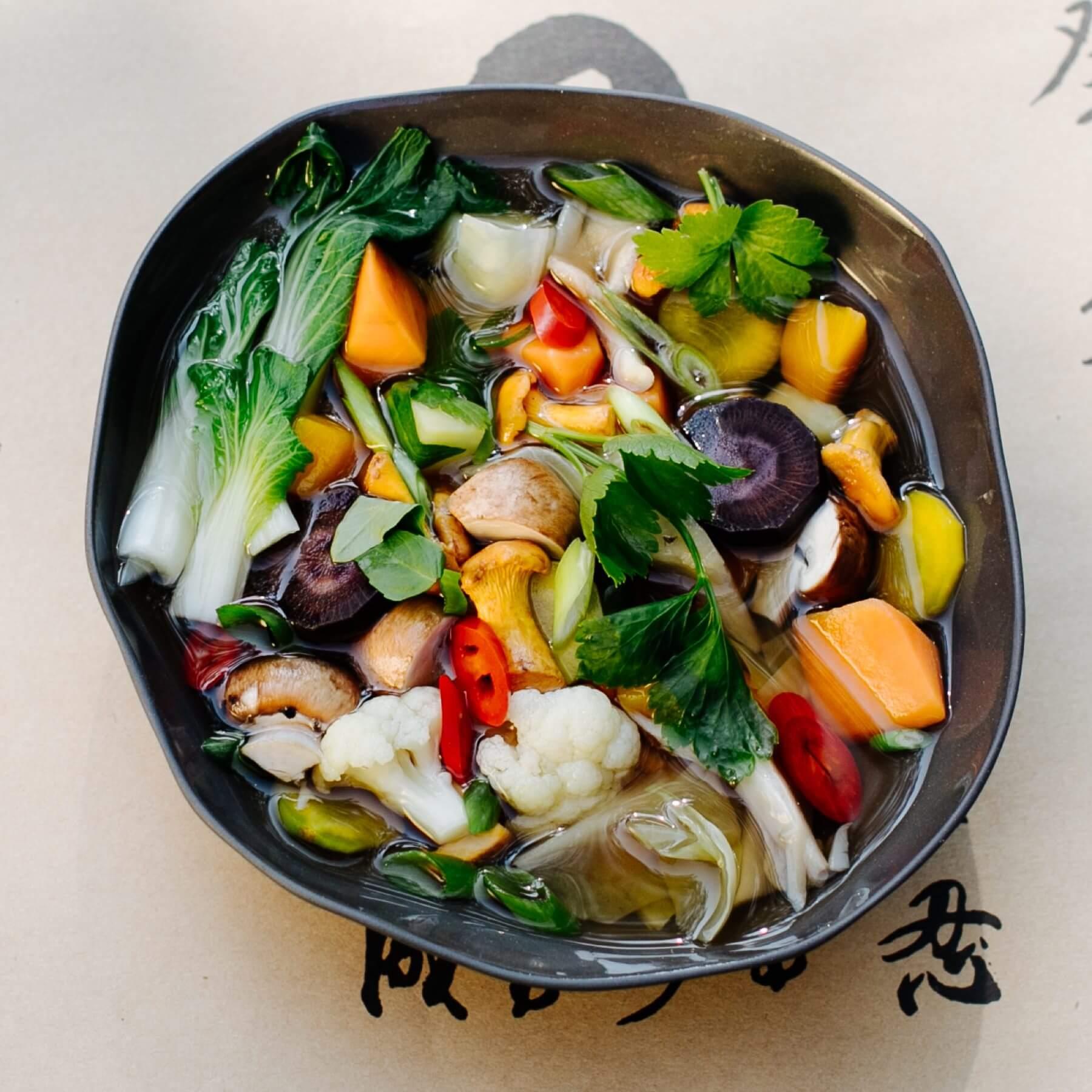 Vegane Pho aus Tra Que