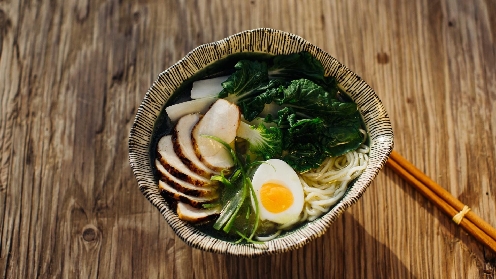 Shio-Ramen mit Miso-Hähnchen