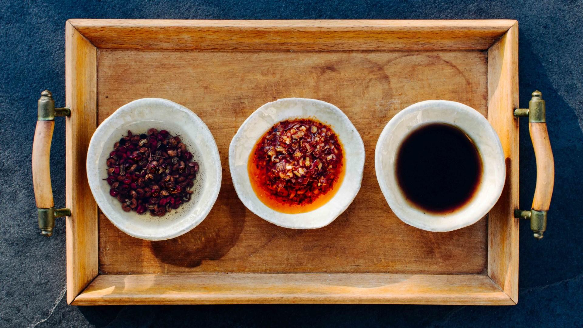 Aromatische Öle für Ramen