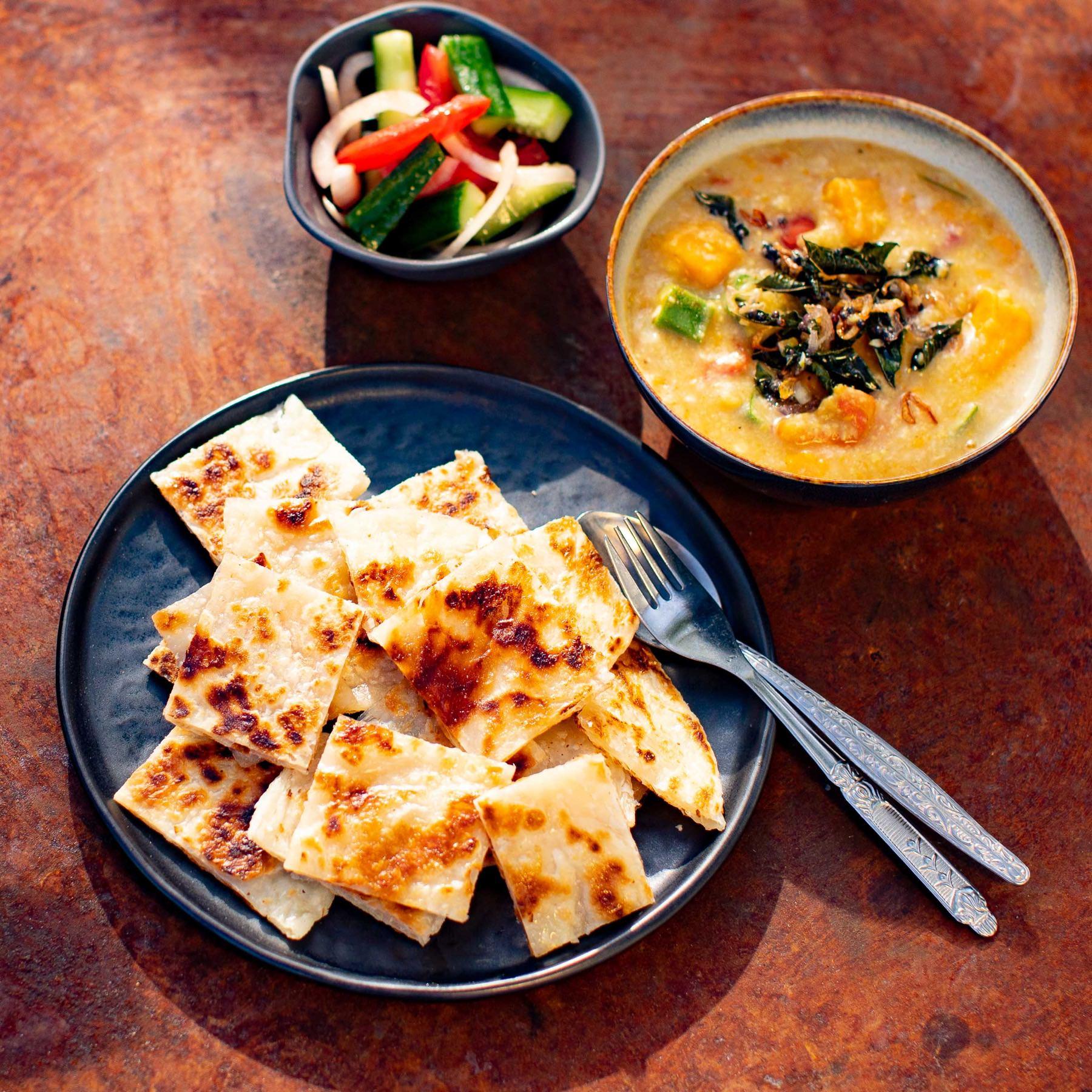 Dhal - Roti Canai Rezept aus Malaysia