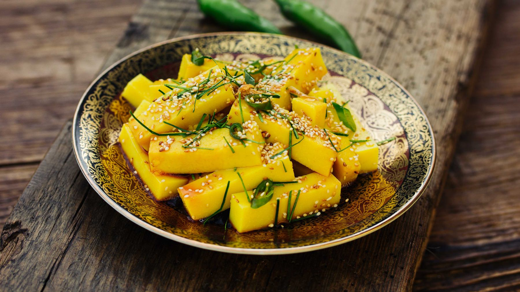 Shan-Tofu Salat - To Hpu Byam
