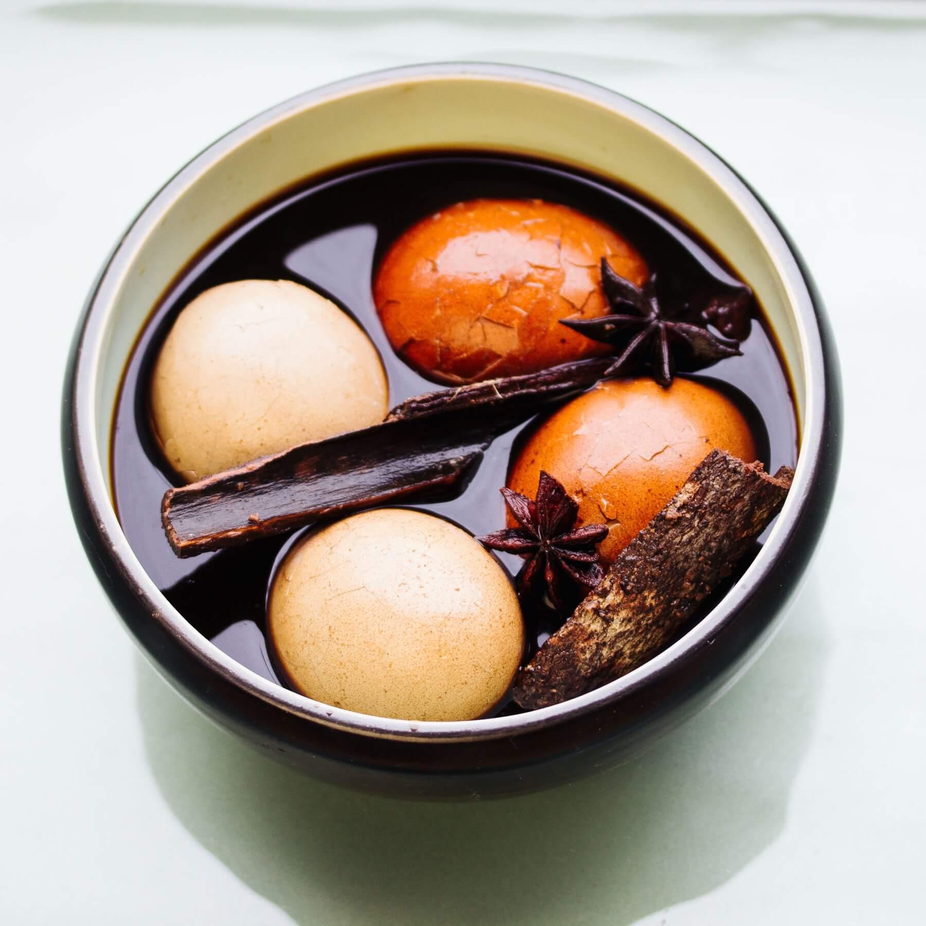 Chinesische Tee Eier